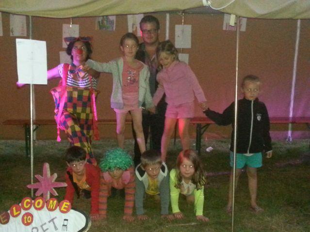 Diaporama camps 4/8 ans