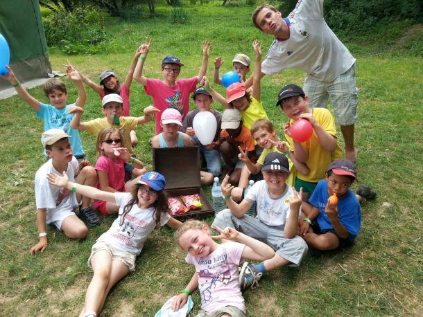 Diaporama camps 8-12 ans