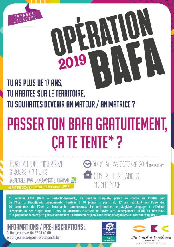 Opération BAFA 2019