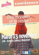 """Conférence """"Être parents...et le rester"""""""