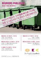 REUNION PUBLIQUE : COLLECTE DES DECHETS / Secteur de la Gacilly