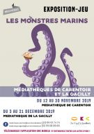 "Exposition-jeu ""Les monstres marins"""