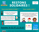 RESTONS SOLIDAIRES !