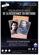 """Exposition """"Vers un nouveau musée de la Résistance en Bretagne"""""""