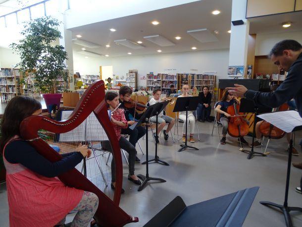 Cours et concerts de l'école de musique