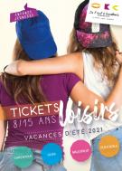 Le programme des Tickets loisirs de l'été !